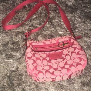 Pink Crossbody Coach Bag
